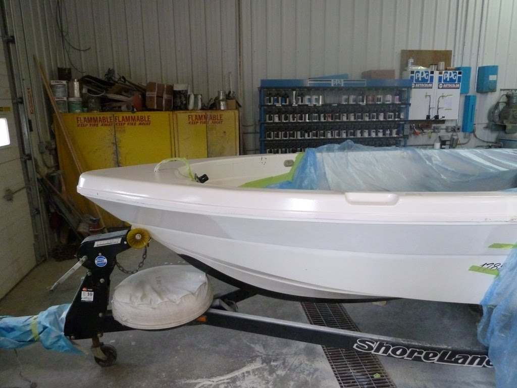 Unique Fiberglass Boat Repair Gallery
